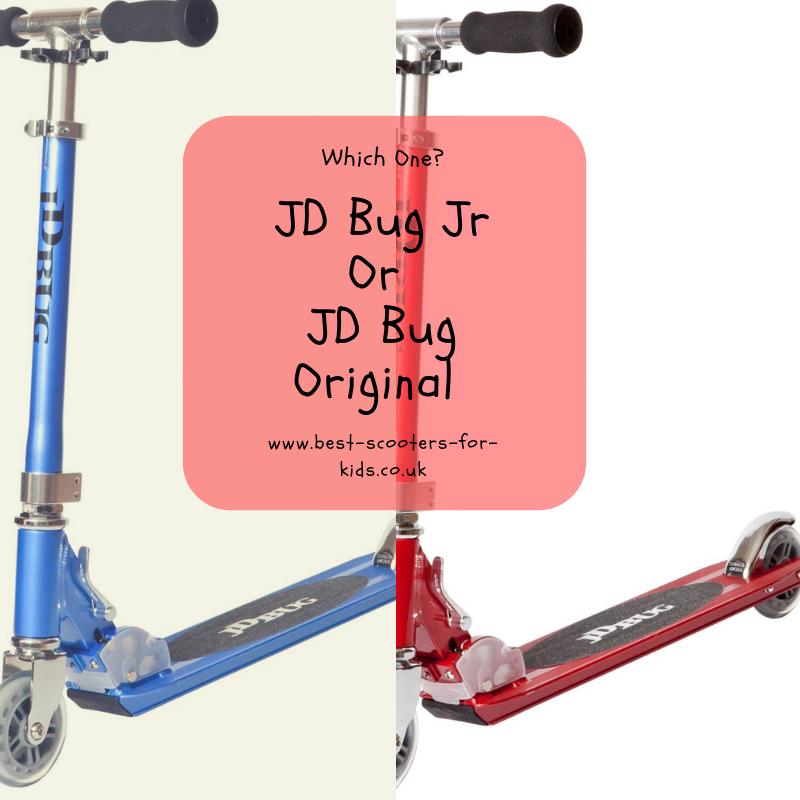 Matt Purple JD Bug Original Street  120 Series  Adjustable Folding Scooter
