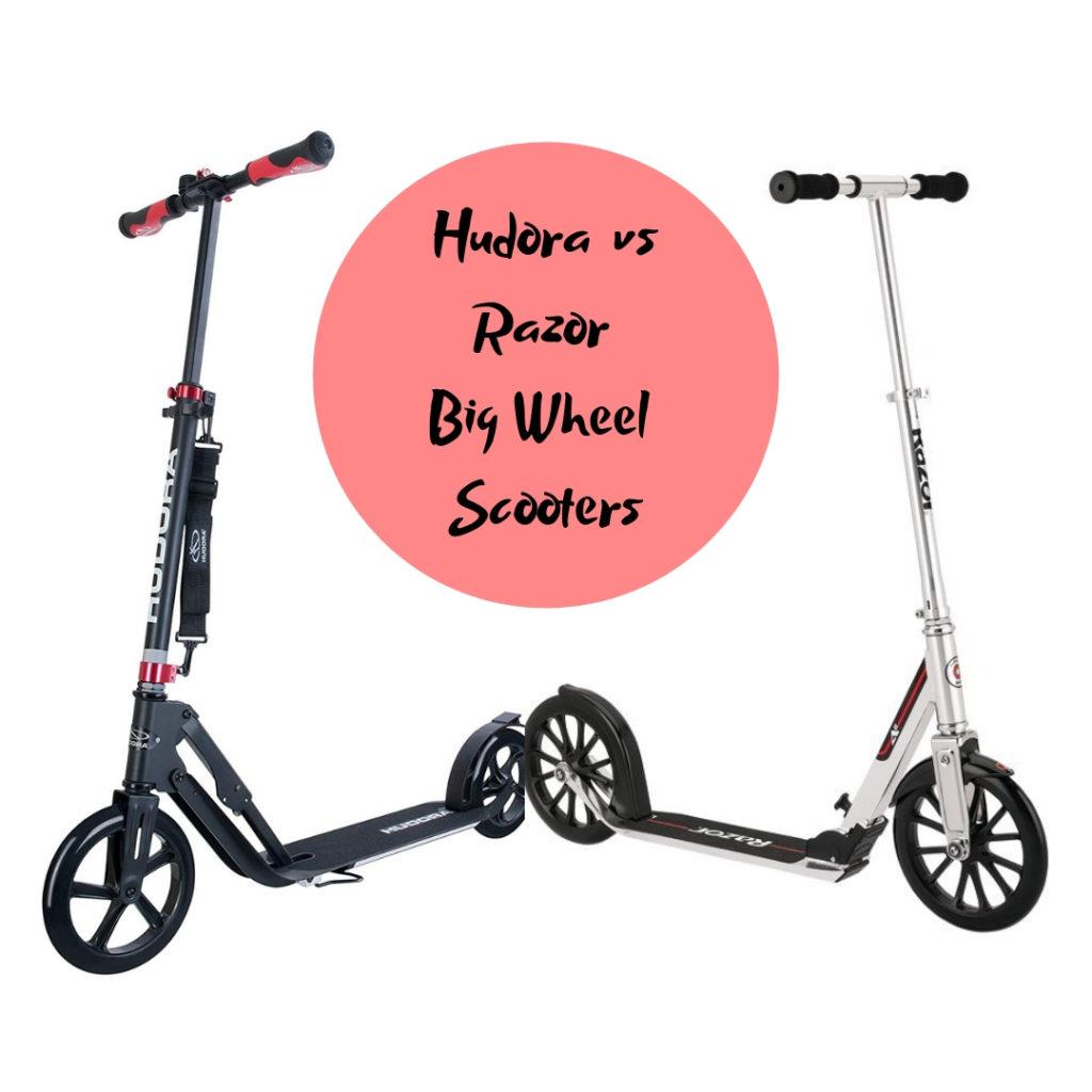 hudora vs razor big wheel scooter comparisons best. Black Bedroom Furniture Sets. Home Design Ideas